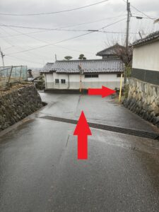 北野呂醸造経路②