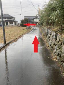 北野呂醸造経路③